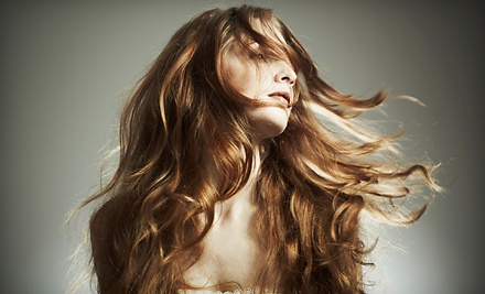 Haircut and Deep-Conditioning Treatment (a $95 Value) - Mystique Hair Salon in Norman