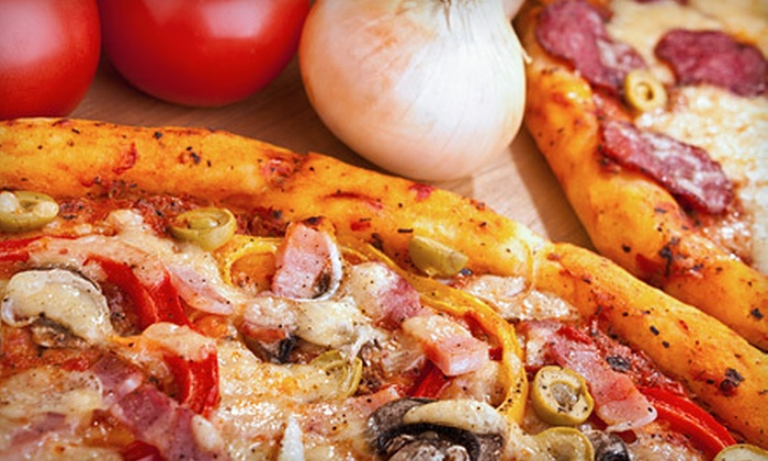 Caliente Pizza and Bar - Bloomfield: Pizza Meal with Small Pizza, Appetizer, and 2-Liter Soda or $12 for $25 Worth of Italian Fare at Caliente Pizza and Bar