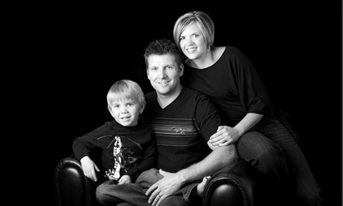 """Viewpoint Photography - Davies Industrial West: $49 for a Family-Portrait Session and 8""""x10"""" Framed Print at Viewpoint Photography ($425 Value)"""