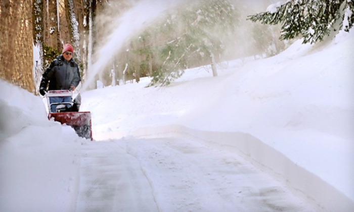 Mac's Lawn Care - Lombard: Three Sessions or Full Season of Snow Removal from Mac's Lawn Care in Lombard (Up to 56% Off)