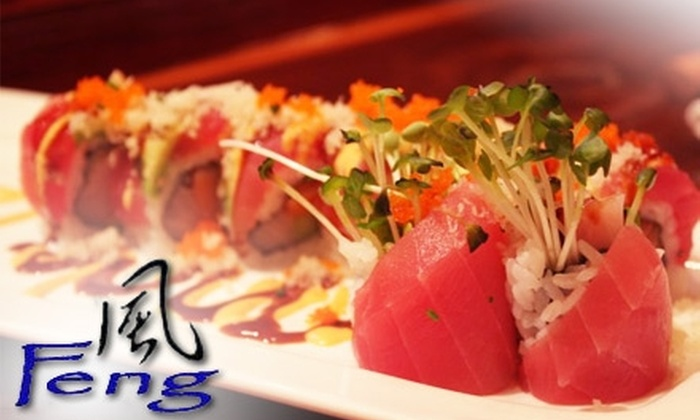 Feng Asian Bistro - Multiple Locations: $15 for $30 Worth of Contemporary Asian Cuisine and Drinks at Feng Asian Bistro. Choose from Two Locations.