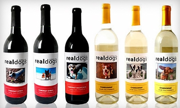 A Dog's Life: $25 for $50 Worth of Personalized Wine from A Dog's Life
