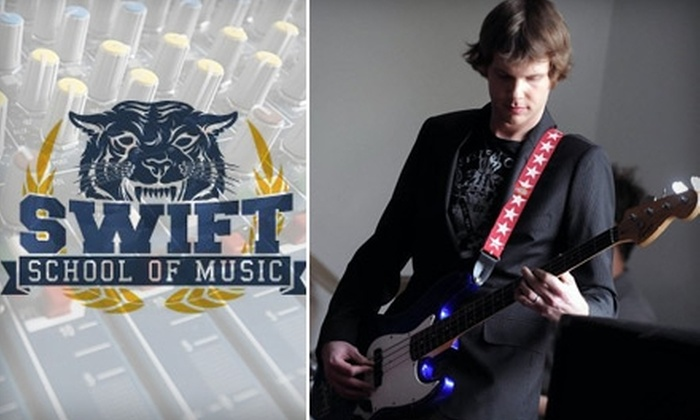 Swift School of Music - South St. Anthony: $37 for Three Half-Hour Private Music Lessons at Swift School of Music ($75 Value)
