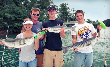 5-Hour Guided Striper Fishing Trip for Two (a $350 Value) - Trophies of Lanier Fishing Guide Service in