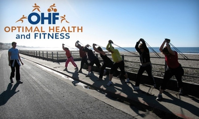 Optimal Health and Fitness - Santa Cruz: $29 for Five Boot Camp Classes at Optimal Health and Fitness ($75 value)