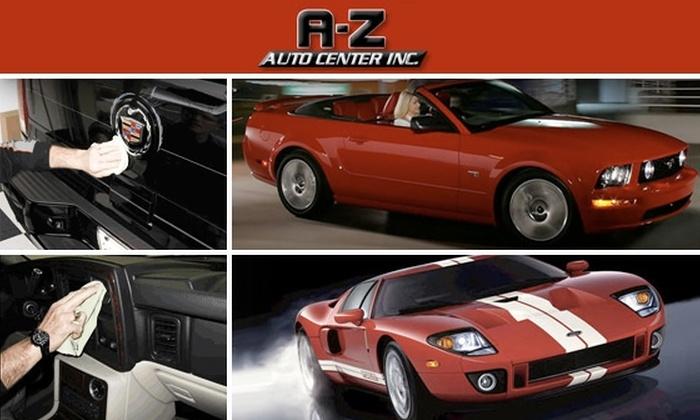 A-Z Auto Center - Brighton: Interior and Exterior Car Detailing at A-Z Auto Center
