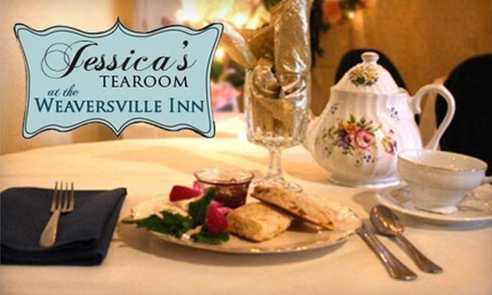 Jessica's Tea Room - East Allen: $15 for $30 Worth of Tea, Cuisine, and Wine at Jessica's Tea Room at the Weaversville Inn