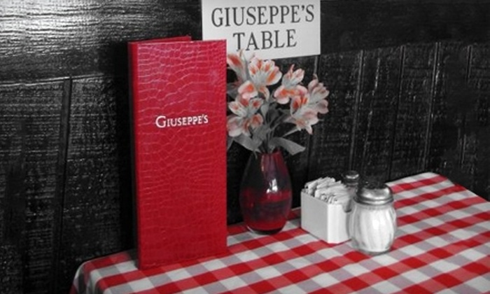 Giuseppe's - Chatsworth: $12 for $25 Worth of Italian Fare and Drinks at Giuseppe's in West Hills