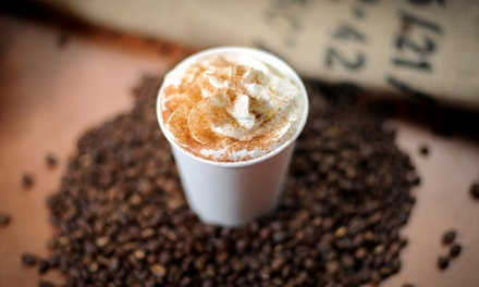Punch Card for 5 Coffee Drinks or 10 Pastries at The Service Station (Up to 58% Off)