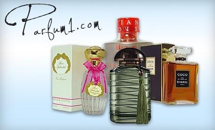 $30 Groupon to Parfum1.com - Parfum1.com in