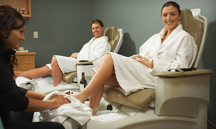 Serenity Spa and Massage - Whitman: $149 for a Five-Person Spa-Party Package at Serenity Spa and Massage ($300 Value)
