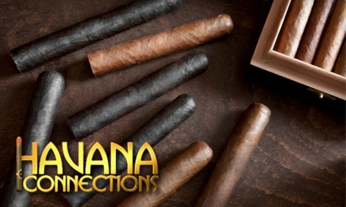 Havana Connections - Multiple Locations: $15 for $30 Worth of Cigars, Pipes, and Tobacconist Merchandise at Havana Connections