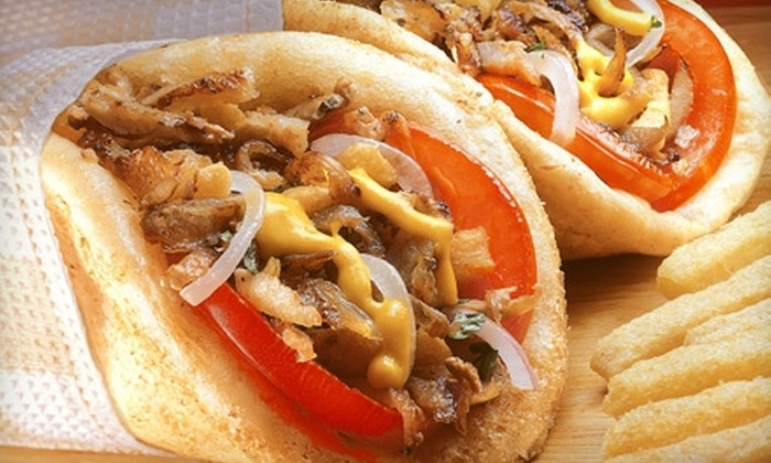 Chicago Gyros - Belmont: $5 for $10 Worth of Greek and Chicago-Style Fare at Chicago Gyros