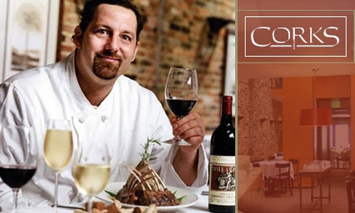 Corks - Federal Hill-Montgomery: $15 for $30 Worth of New American Fare at Corks