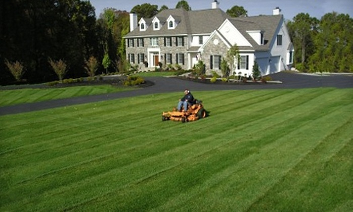 Mance Outdoor Solutions - Granite City: $45 for Three Lawn-Care Appointments from Mance Outdoor Solutions