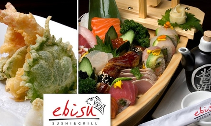 Ebisu Sushi & Grill - Sun City Anthem: $20 for $40 Worth of Japanese Cuisine and Drinks at Ebisu Sushi & Grill