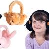 Happy Trails Plush Animal Stereo Headphones