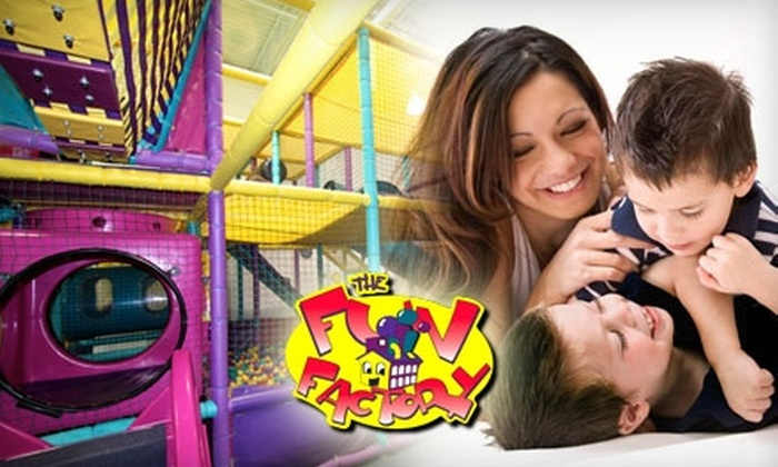 The Fun Factory - Kelsey Woodlawn: $10 for Two Value-Pak Admissions to The Fun Factory ($21.50 Value)
