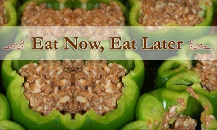 Eat Now, Eat Later - Harrisburg / Lancaster: $15 for Cooking Session with Two Take-Home Meals ($30 Value) or $35 for Cooking Session with Five Take-Home Meals ($70 Value) at Eat Now, Eat Later