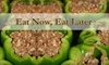 Eat Now, Eat Later - Derry: $15 for Cooking Session with Two Take-Home Meals ($30 Value) or $35 for Cooking Session with Five Take-Home Meals ($70 Value) at Eat Now, Eat Later