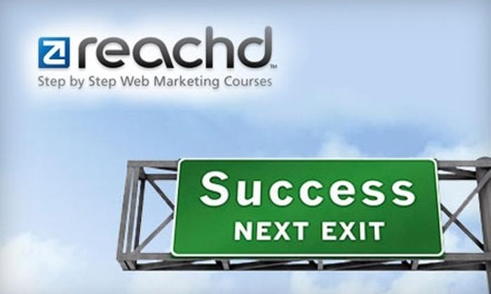 Reachd.com - Fairview: $75 for a Web-Marketing Class from Reachd.com ($149 Value)