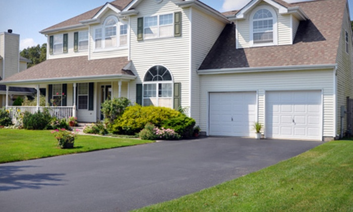 Asphalt Engineering - Boston: Sealcoating for a Driveway Up to 800 or 1,200 Square Feet from Asphalt Engineering (Up to 51% Off)