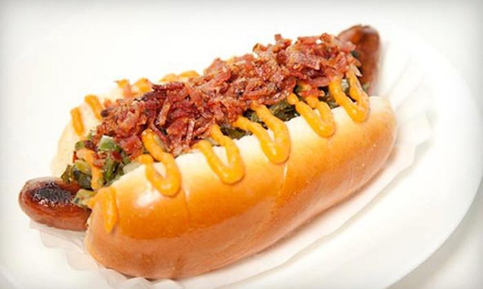 Otis Jackson's Soul Dog - Valley Village: $15 for a Hot-Dog-Soul-Food Combo Meals for Two at Otis Jackson's Soul Dog in North Hollywood ($30 Value)