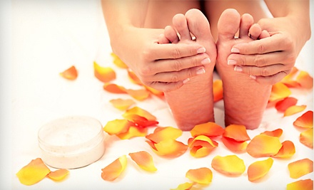 1 Shellac Manicure and Spa Pedicure  (a $70 Value) - Melissa's Place in Springfield