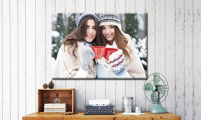 Custom Photo Canvas from MyPix2.com (Up to 81% Off). Free Shipping.