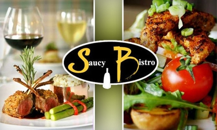 Saucy Bistro - Westlake: $20 for $40 Worth of Eclectic Wining and Dining at Saucy Bistro in Westlake