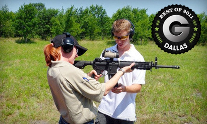 Extreme Defensive - Northeast Rockwall: Pistol and Rifle Shooting-Range Package with Lesson for One or Two at Extreme Defensive in Royse City (Up to 74% Off)
