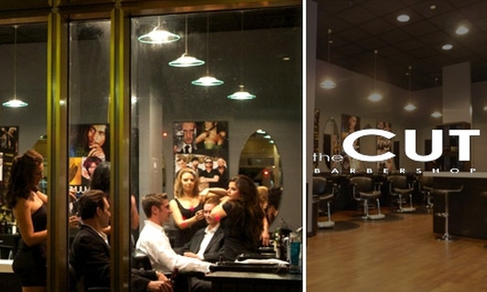 the CUT Barbershop - Third Ward: $18 for a Men's Haircut at the CUT Barbershop