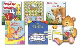 Just-4Me.com: One, Three, or Five Personalized Children's Books from Just-4Me.com (Up to 54% Off)