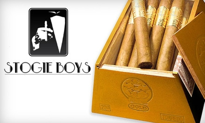 StogieBoys.com: $25 for $50 Worth of Cigars and More from StogieBoys.com