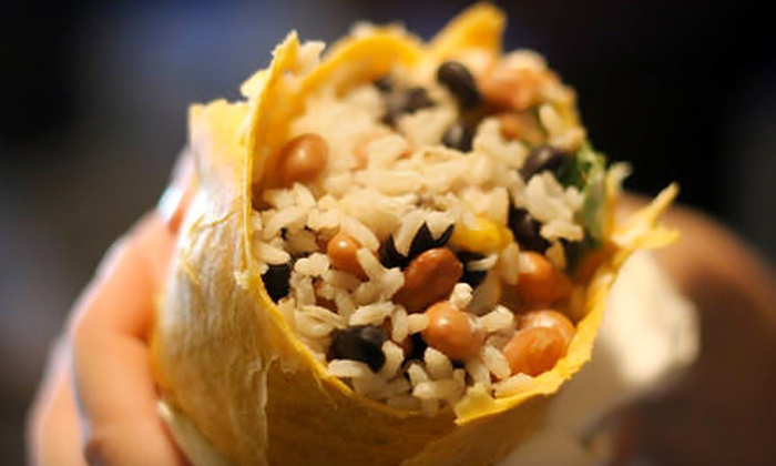 Machismo Burrito Bar - Manayunk: Half Off a Southwestern Meal for Two or Four at Machismo Burrito Bar (Up to $48 Value)