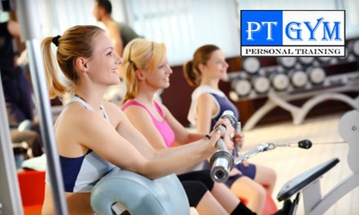 PT Gym - Hillingdon: $39 for a One-Month Membership and One Month of Boot-Camp Classes at PT Gym