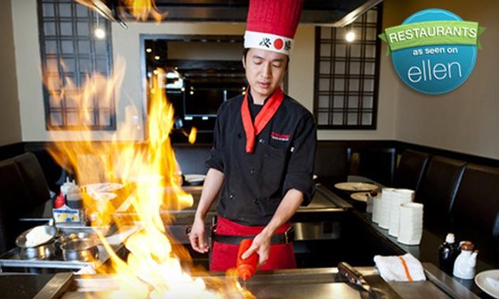 Yokohama Japanese Restaurant - Maple Shade: Japanese Hibachi Dinner for Two, Four, or Six at Yokohama Japanese Restaurant in Maple Shade, New Jersey