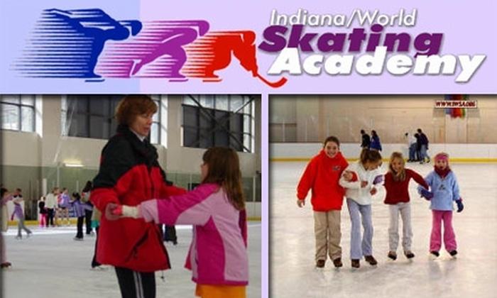 Indiana World Skating Academy - Downtown Indianapolis: $3 Ice Skating and Rental at Indiana World Skating Academy