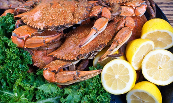 Steamers Seafood House - Bethesda: All-You-Can-Eat Crab Feast for Two or Four at Steamers Seafood House in Bethesda (Half Off)