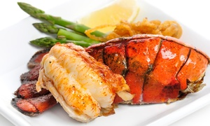 Bailey's Surf N Turf: $18 for $30 Worth of Steak and Seafood for Dinner for Two or More at Bailey's Surf N Turf