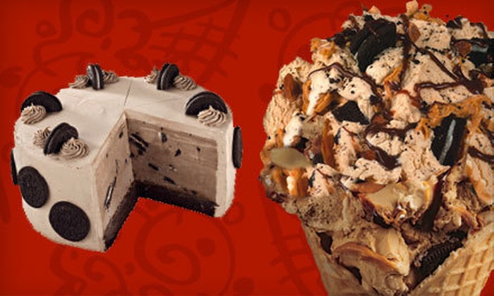 Cold Stone Creamery - Ontario: Ice Cream or Cakes and Cupcakes at Cold Stone Creamery (Half Off)