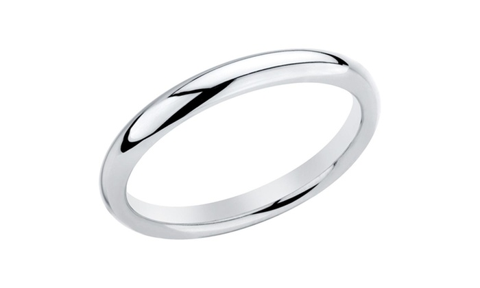 Sterling Silver Wedding Bands For Men And Women