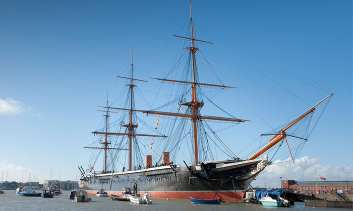 All Attraction Annual Pass to Portsmouth Historic Dockyard for Up to Five (Up to 31% Off)