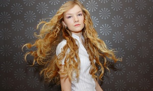 Color Me Beauty: Haircut with Scalp Massage or Brow Wax and Highlights at Color Me Beauty Salon (Up to 81% Off)