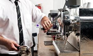 """Kaffeemanufaktur Becking: Kaffeeseminar """"Meister-Espresso-Schulung"""" in der Kaffeemanufaktur Becking ab 12,50 € (bis zu 56% sparen*)"""