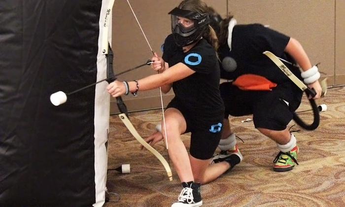 Bad Boy Bait, Tackle & Archery - Vermilion: Indoor Archery Tag for Two, Four, or Six Players at Bad Boy Bait, Tackle & Archery (Up to 47% Off)