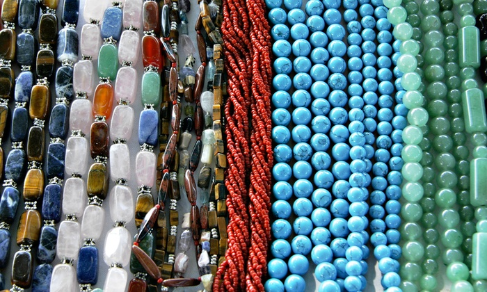 Smoky Mountain Beads, Crystals & More - Lenoir City: Bead-Stringing Class for One, Two, or Four at Smoky Mountain Beads, Crystals & More (Up to 54% Off)