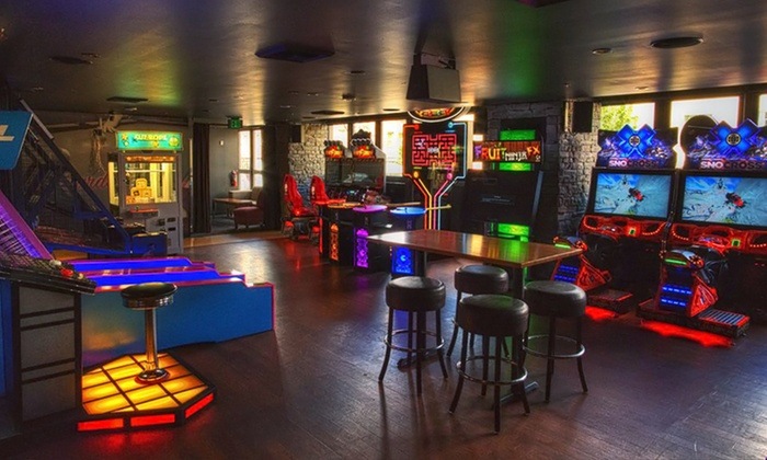 Grand Central Bowling Lounge - Grand Central Restaurant & Bowling Lounge: Arcade-Game Tokens at Grand Central Bowling Lounge (50% Off). Two Options Available.