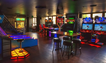 Arcade-Game Tokens at Grand Central Bowling Lounge (50% Off). Two Options Available.