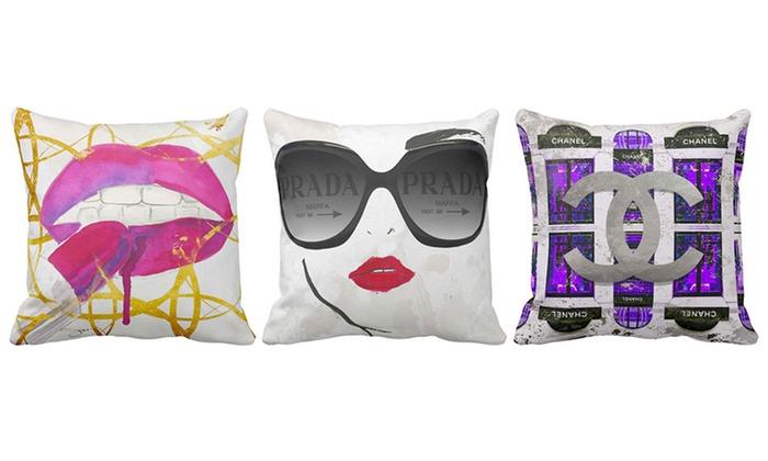 LiLiPi Fashion Art Throw Pillows By Jodi